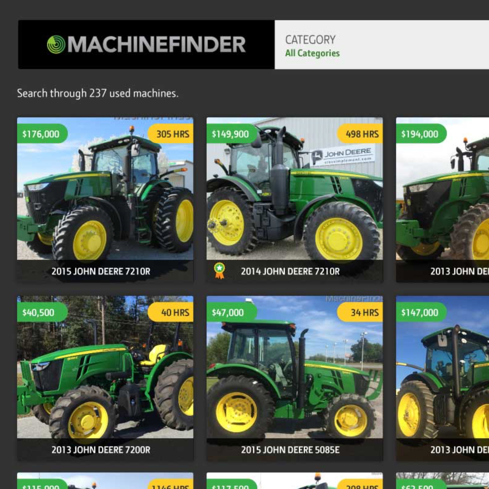 MachineFinder preview